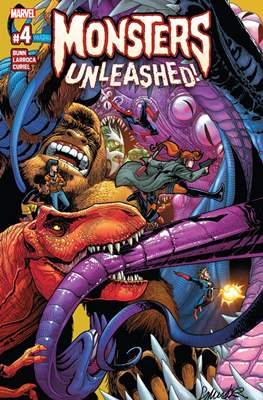 Monsters Unleashed (2017 Variant Cover) (Comic-book) #4