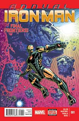 Iron Man Vol V Annual