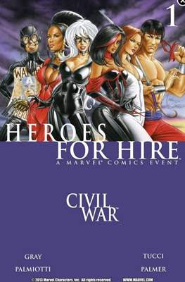 Heroes For Hire (Vol.1)