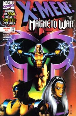 X-Men: The Magneto War (Variant Cover)