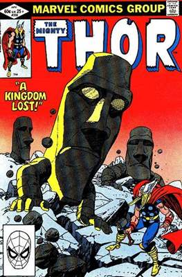 Journey into Mystery / Thor Vol 1 (Comic Book) #318