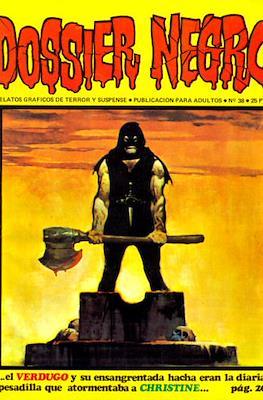 Dossier Negro (Rústica y grapa [1968 - 1988]) #38