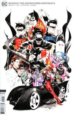 Batman: The Adventures Continue (Variant Cover) (Comic Book) #2.2