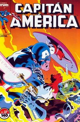 Capitán América vol. 1 / Marvel Two-in-one: Capitán America & Thor vol. 1 (1985-1992) (Grapa 32-64 pp) #37
