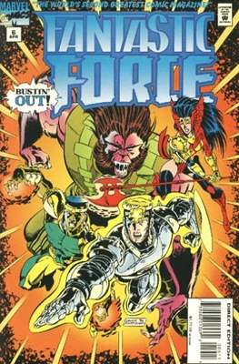 Fantastic Force Vol. 1 (1994-1996) (Saddle-stitched) #6