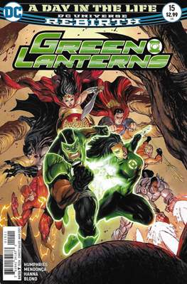 Green Lanterns Vol. 1 (2016-2018) (Comic-book) #15