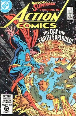 Action Comics Vol. 1 (1938-2011; 2016-) (Comic Book) #550