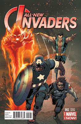 All-New Invaders (2014 Variant Cover) (Comic Book) #2