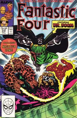Fantastic Four Vol. 1 (1961-1996) (saddle-stitched) #318