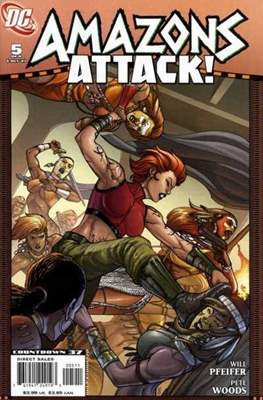 Amazons Attack! (Saddle-stitched) #5