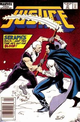 Justice. New Universe (1986) (Grapa.) #31