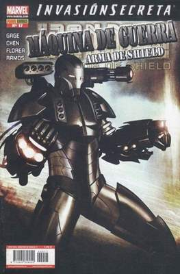 Iron Man: Director of SHIELD / Iron Man & Máquina de Guerra / El Invencible Iron Man (2008-2011) (Grapa, 48 páginas) #17