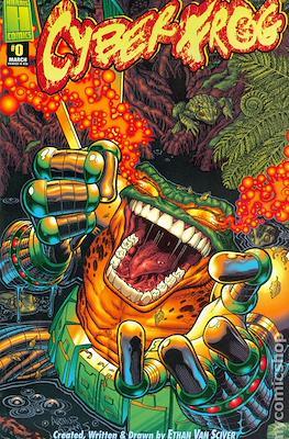 Cyberfrog (Variant Cover)