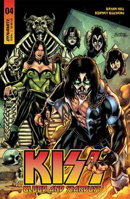 KISS: Blood and Stardust (Variant Covers) (Comic Book) #4