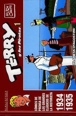 Terry y los Piratas. Biblioteca Grandes del Cómic