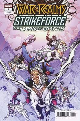 The War of the Realms Strikeforce: The Land of Giants (Variant Cover)