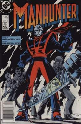 Manhunter (Vol. 1 1988-1990) (Comic-book.) #3