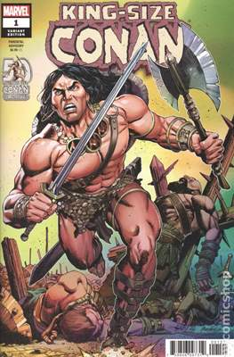King-Size Conan (Variant Cover)