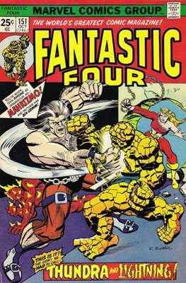 Fantastic Four Vol. 1 (1961-1996) (saddle-stitched) #151