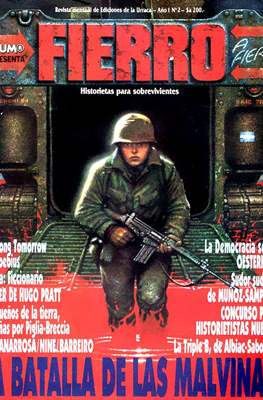 Fierro (Grapa (1984-1992) Primera época) #2