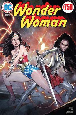 Wonder Woman Vol. 5 (2016- Variant Cover) #750.3