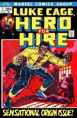 Hero for Hire/Power Man Vol.1 (1972-1978) (Grapa, 32 págs.) #1
