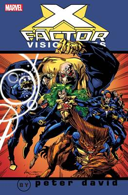 X-Factor Visionaries: Peter David (Softcover) #1
