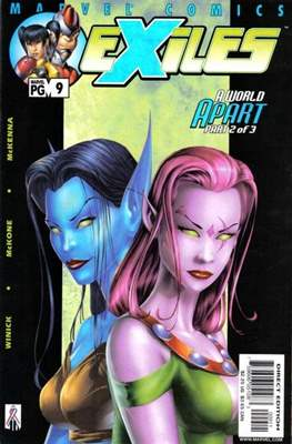 Exiles Vol. 1 (2001-2008) (Comic Book) #9
