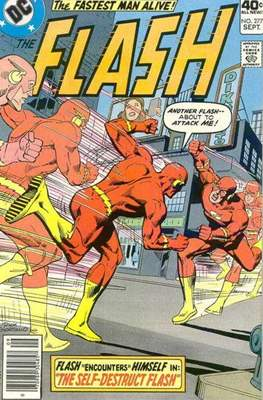 Flash Comics / The Flash (1940-1949, 1959-1985, 2020-) (Comic Book 32 pp) #277