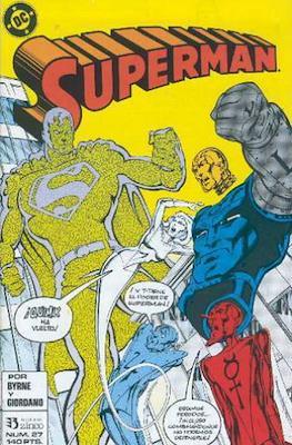 Superman: El hombre de acero / Superman Vol. 2 (Grapa 36 pp) #27