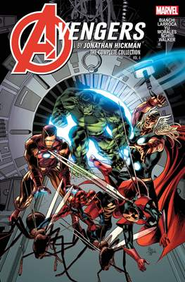 Avengers by Jonathan Hickman: The Complete Collection #4