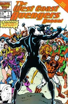 Avengers West Coast Annual (1986-1993) #1