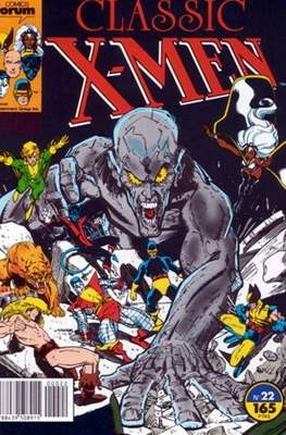 Classic X-Men Vol. 1 (1988-1992) (Grapa 32 pp) #22