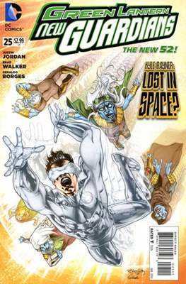 Green Lantern New Guardians (2011-2015) (2011 - 2015) Grapa #25