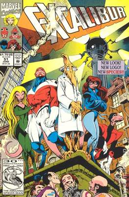 Excalibur Vol. 1 (Comic Book) #51