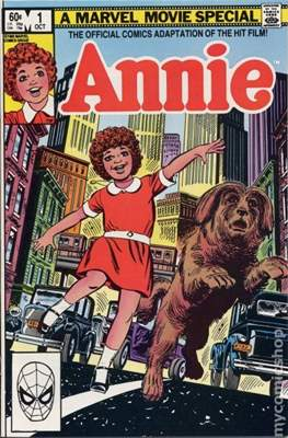 Annie The Official Adaptation of the Hit Film!