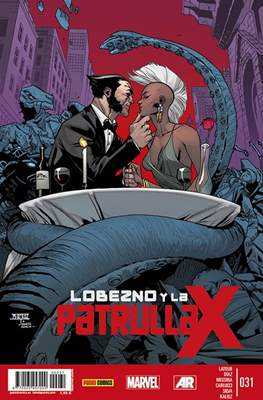 Lobezno y la Patrulla-X / Spiderman y La Patrulla-X (2012-2015) (Grapa.) #31