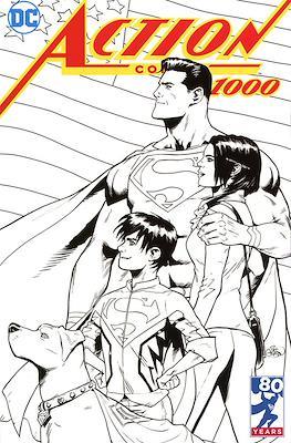 Action Comics Vol. 1 (1938-2011; 2016-... Variant Covers) (Comic Book) #1000.23