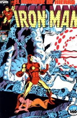 Iron Man Vol. 1 / Marvel Two-in-One: Iron Man & Capitán Marvel (1985-1991) (Grapa, 36-64 pp) #27