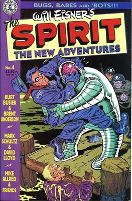 The Spirit. The New Adventures (Comic book. grapa.) #4