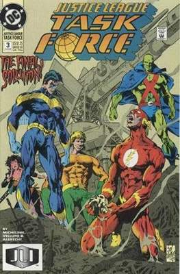 Justice League Task Force (Comic Book) #3