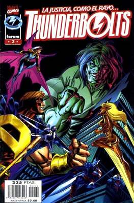 Thunderbolts Vol. 1 (1998-2001) (Grapa 24-40 pp) #2