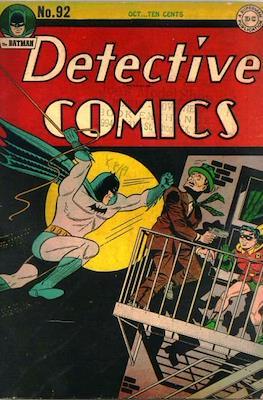 Detective Comics Vol. 1 (1937-2011; 2016-) (Comic Book) #92