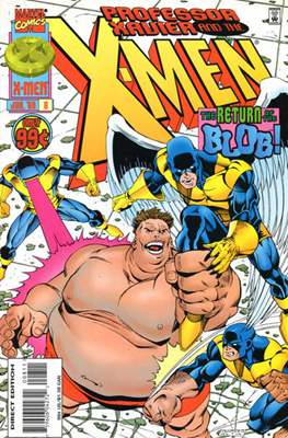 Professor Xavier and the X-Men (Comic Book) #8
