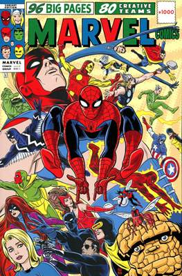 Marvel Comics #1000 (Variant Cover) (Softcover 80 pp) #1.9