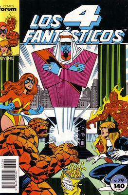 Los 4 Fantásticos Vol. 1 (1983-1994) (Grapa 36-32-24 pp) #79