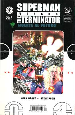 Superman versus The Terminator: Muerte al futuro #2