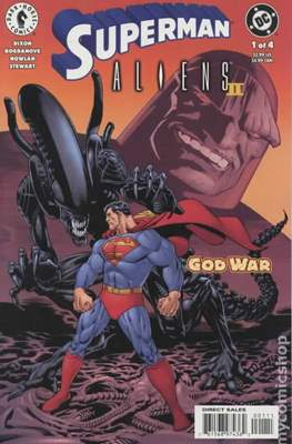 Superman Aliens II: God War
