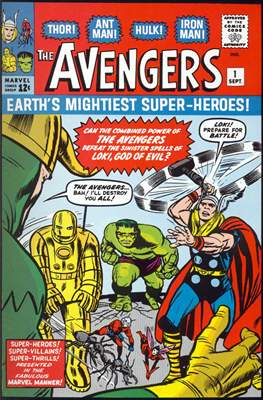 The Avengers Vol. 1 (1963-1996) (Comic Book) #1