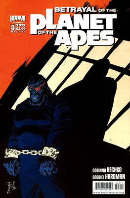 Betrayal of the Planet of the Apes (Comic Book) #3